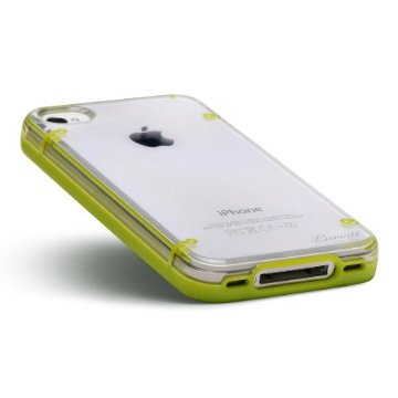 Image of LUVVITT ACCENT Case for iPhone 4 & 4S - Green