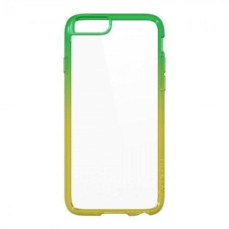 LUVVITT CLEARVIEW Case for iPhone 6 | Back Cover for iPhone 6 - Yellow /Orange