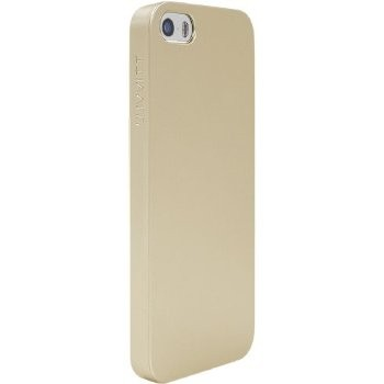 LUVVITT CRYSTAL VIEW Hard Shell Anti-Scratch Case for iPhone 5 / 5S - Gold
