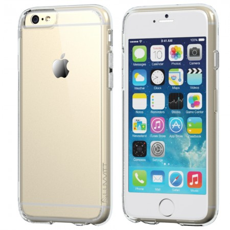 LUVVITT CLEARVIEW Case for iPhone 6 PLUS | Cover for iPhone 6S PLUS - Clear