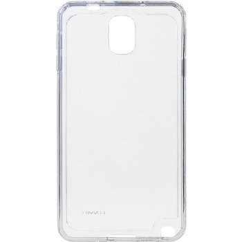 LUVVITT CLEARVIEW Hybrid Slim Case/Cover for Samsung Galaxy Note 3 - Clear