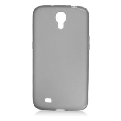 LUVVITT FROST Soft Slim Transparent TPU Case for Galaxy MEGA 6.3 inch - Black