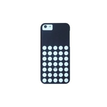 LUVVITT SKINNY Matte Slim Premium Hard Case Back Cover w/Holes for iPhone 5C