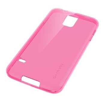 LUVVITT FROST Galaxy S5 Case | Soft Slim TPU Case for Galaxy S5 - Pink