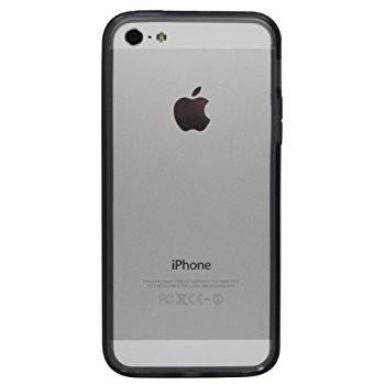 LUVVITT Bumper for iPhone 5 (Retail Packaging) - Transparent Black