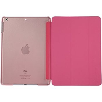 LUVVITT RESCUE Case Back and Front Cover Combo for iPad AIR - Pink