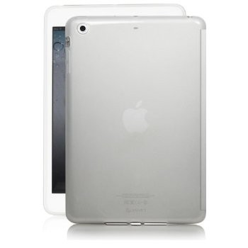 LUVVITT DOLCE Soft TPU Back Cover for iPad Mini 3 (smart cover cutout) - Clear