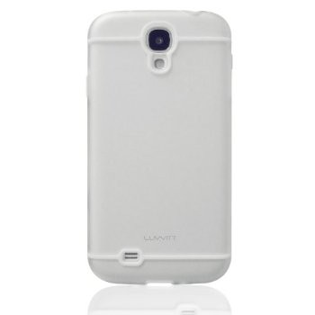 LUVVITT HYBRID Transparent Case / Cover for GalaxyS4 - Clear / White