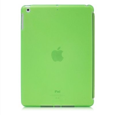 LUVVITT DOLCE Soft Back Cover for iPad Air 5th Gen Comp w/ Smart Cover - Green