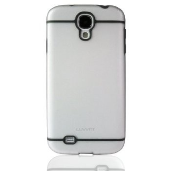 LUVVITT HYBRID Case / Back Cover with Bumper for Galaxy S4 - Clear