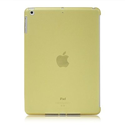 LUVVITT DOLCE Soft Back Cover for iPad Air 5th Gen Comp w/Smart Cover - Yellow