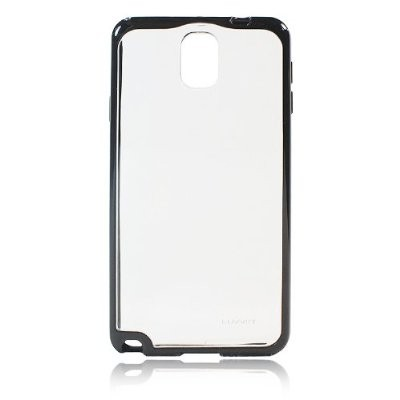 LUVVITT CLEARVIEW Hybrid Slim Case for Samsung Galaxy Note 3 - Clear / Black