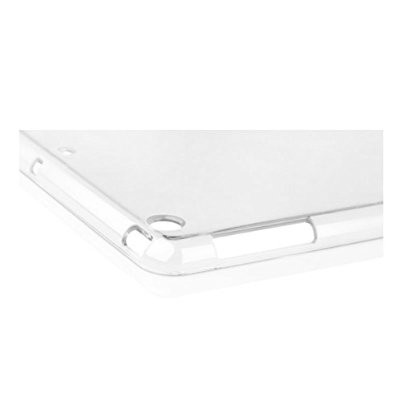 LUVVITT CLARITY Soft Skin TPU Rubber Back Cover for iPad Air 2 - Crystal Clear