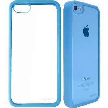 LUVVITT CLEARVIEW Case for iPhone 5C - Blue