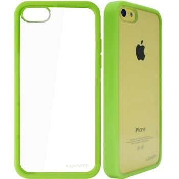 LUVVITT CLEARVIEW Case for iPhone 5C - Green