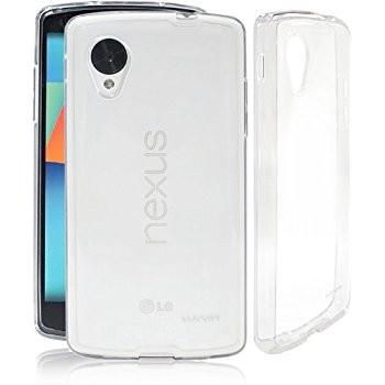 LUVVITT CLEARVIEW Hybrid Slim Case / Back Cover for Google Nexus 5 - Clear