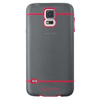 LUVVITT HYBRID Galaxy S5 Case   Case / Cover for Galaxy S5 - Black / Red