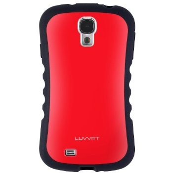 LUVVITT ARMOR PRO Case for Samsung Galaxy S4 SIV (LIFETIME WARRANTY) - Red