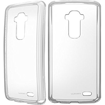 LUVVITT CLEARVIEW Hybrid Slim Case / Back Cover for LG G FLEX - Crystal Clear