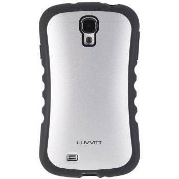 LUVVITT PROOFTECH Case for Samsung Galaxy S4 SIV (LIFETIME WARRANTY) - Silver