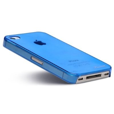 LUVVITT CRYSTAL VIEW UltraSlim Crystal Case for iPhone 4 & 4S - Blue