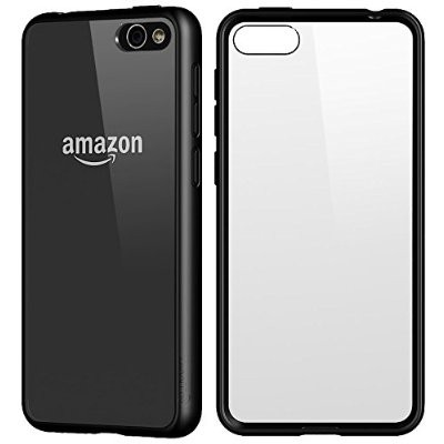 LUVVITT CLEARVIEW Amazon Fire Phone Case / Cover - Clear | Black