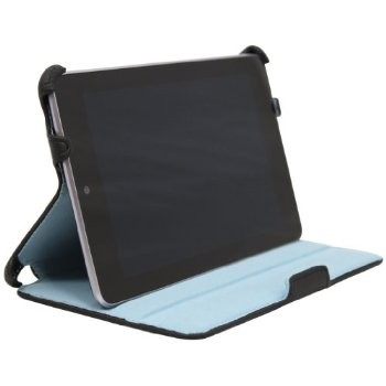 LUVVITT Premium Case for Google Nexus 7 (with Auto sleep) - Black/Blue