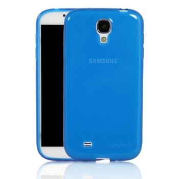 LUVVITT FROST Soft Slim TPU Case for GalaxyS4 - Blue