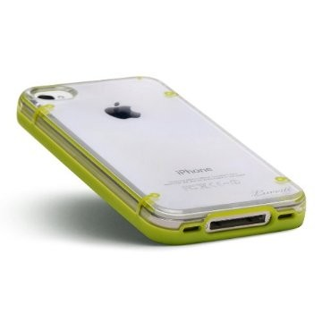 LUVVITT ACCENT Case for iPhone 4 & 4S - Green