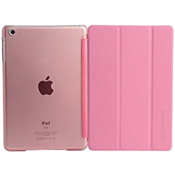 LUVVITT RESCUE Case Back and Front Cover for iPad MINI / iPad MINI 2 - Pink