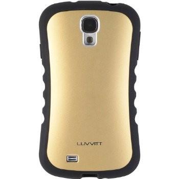 LUVVITT ARMOR PRO Case for Samsung Galaxy S4 SIV (LIFETIME WARRANTY) - Gold