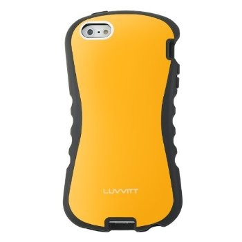 LUVVITT ARMOR PRO Case for iPhone 5 / 5S (LIFETIME WARRANTY) - Citrus