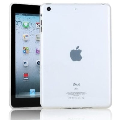 LUVVITT GELLATO Soft Skin TPU Case / Back Cover for iPad MINI / MINI 2 - Frost