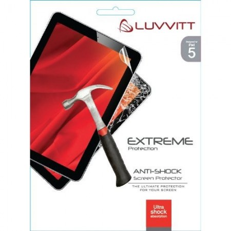 LUVVITT EXTREME Protection ANTI-SHOCK Screen Protector for iPad AIR 5 th Gen.