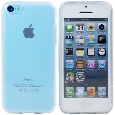 LUVVITT FROST Soft Slim Trasparent TPU Case / Cover for iPhone 5C - Frost