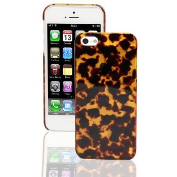 LUVVITT CRYSTAL VIEW Hard Shell Transparent Clear Back Hard Case for iPhone 5 / 5S