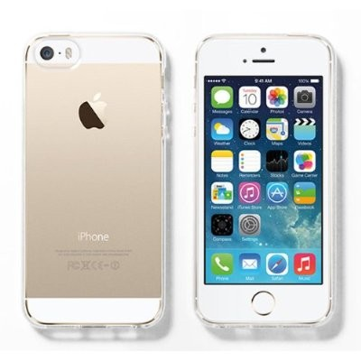 LUVVITT FROST Soft Slim Clear Case / Back Cover for iPhone 5 / 5S - Clear
