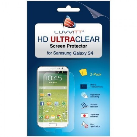 LUVVITT HD Ultra-Clear Screen Protector for Samsung Galaxy S4 SIV