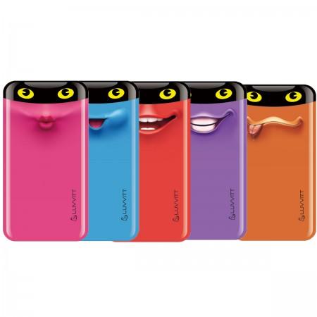 LUVVITT EMOJI Power Bank 6000 mAh Ultra Slim Portable Charger External Battery