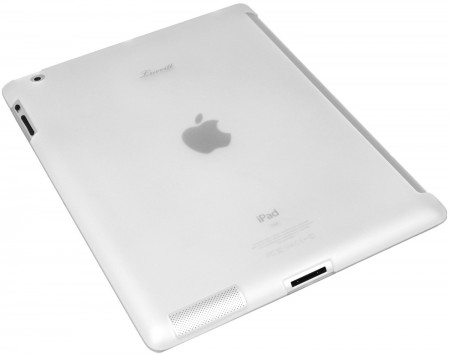LUVVITT DOLCE Smart Cover Compatible TPU Case BACK COVER for iPad 2/3/4 Clear