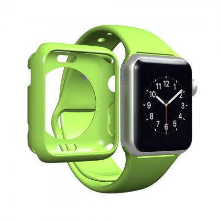 LUVVITT CLARITY Apple Watch Case 42mm - Green