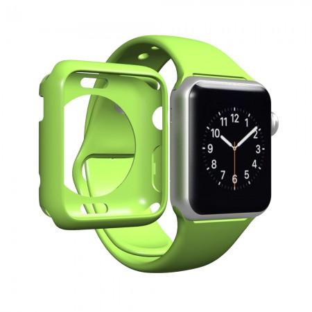 LUVVITT CLARITY Apple Watch Case 38mm - Green