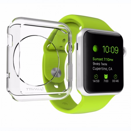 LUVVITT CLARITY Apple Watch Case 42mm - Clear