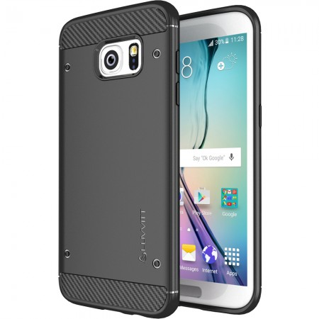 LUVVITT SLEEK ARMOR Galaxy S7 Edge Case - Black