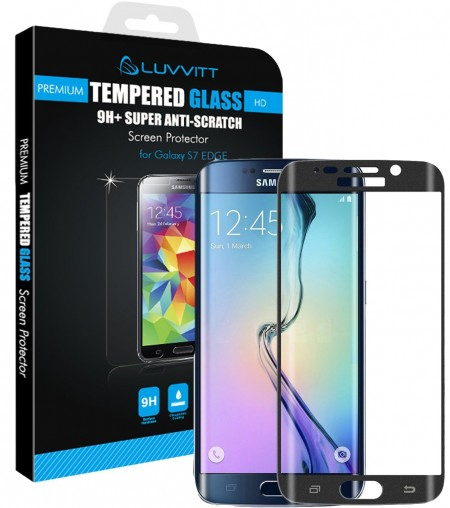 LUVVITT TEMPERED GLASS Screen Protector for Samsung Galaxy S7 Edge