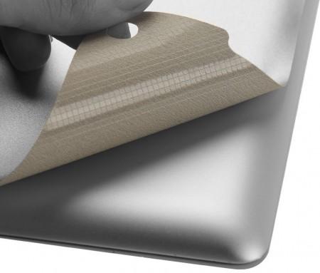 LUVVITT SILVERBACK Skin for the new iPad 4 / iPad 3 / iPad 2 - Silver