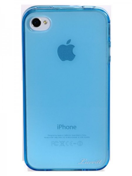 LUVVITT ICE Thermoplastic Soft Case for iPhone 4 & 4S