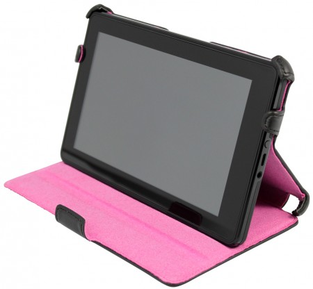 LUVVITT NEON Case for Kindle Fire - Black / Pink