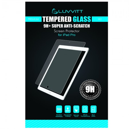 LUVVITT TEMPERED GLASS Screen Protector for iPad Pro - Crystal Clear