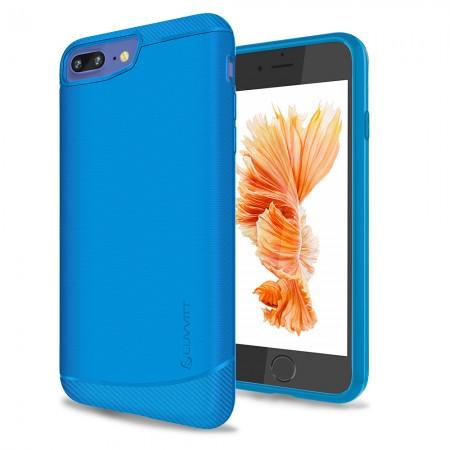 LUVVITT SLEEK ARMOR Case for iPhone 7 PLUS   Dual Layer Back Cover - Cobalt Blue